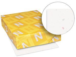 Wausau Paper 22401 Astrobrights Colored Card Stock, 65 lbs., 8-1/2 x11, Stardust White, 250 Sheets