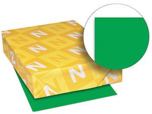 Wausau Paper 22541 Astrobrights Colored Paper, 24lb, 8-1/2 x 11, Gamma Green, 500 Sheets/Ream