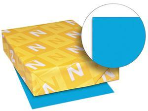 Wausau Paper 22661 Astrobrights Colored Paper, 24lb, 8-1/2 x 11, Celestial Blue, 500 Sheets/Ream