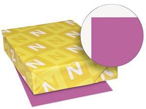 Wausau Paper 22671 Astrobrights Colored Paper, 24lb, 8-1/2 x 11, Planetary Purple, 500 Sheets/Ream