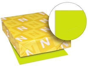 Wausau Paper 22781 Astrobrights Colored Card Stock, 65 lbs., 8-1/2 x 11, Terra Green, 250 Sheets
