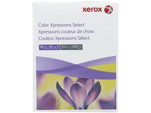 Xerox 3R11540 Digital Color Xpressions Paper, 98 Brightness, 24lb, 8-1/2x11, WE, 500 Shts/Rm
