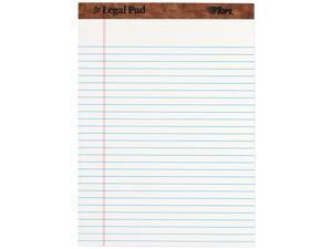 TOPS Paper Pads, Legal Rule, Letter Size, White, 50 Sheets, 12/Dozen