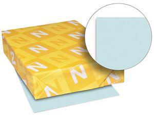 Wausau Paper 82321 Exact Vellum Bristol Cover Stock, 67 lbs., 8-1/2 x 11, Blue, 250 Sheets