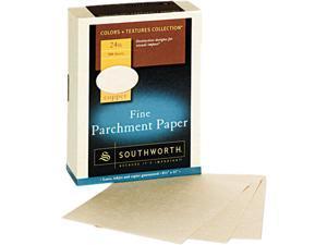 Southworth 894C Fine Parchment Paper, 24 lbs., 8-1/2 x 11, Copper, 500/Box