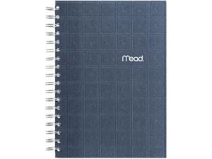"Mead Recycled Notebook, 6"" X 9.5"", 138 Sheets, College Ruled, Perforated, Assorted"