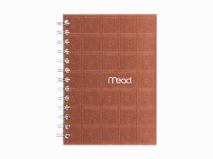 "Mead Recycled Notebook, 5"" X 7"", 80 Sheets, College Ruled, Perforated, Assorted"