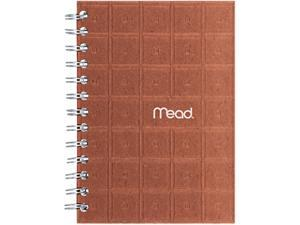 """Mead Recycled Notebook, 5"""" X 7"""", 80 Sheets, College Ruled, Perforated, Assorted"""