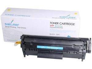 Sailner Compatible SHP-Q2612A Toner Cartridge, Alternative for HP OEM# Q2612A