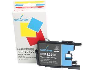 Sailner Compatible SBP-LC79C inkjet Cartridge, alternative for Brohter OEM# LC79C