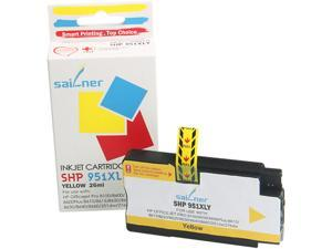 Sailner Compatible SHP 951XLY inkjet Cartridge, Cartridge for HP OEM#  951XLY