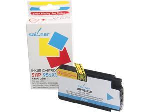 Sailner Compatible SHP 951XLC inkjet Cartridge, Cartridge for HP OEM#  951XLC
