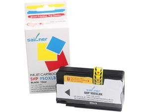 Sailner Compatible SHP 950XLBK inkjet Cartridge, Cartridge for HP OEM#  950XLBK