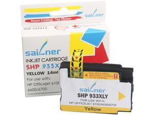 Sailner Compatible SHP 933XLY inkjet Cartridge, Cartridge for HP OEM#  933XLY