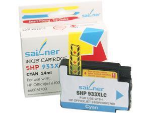 Sailner Compatible SHP 933XLC inkjet Cartridge, Cartridge for HP OEM#  933XLC