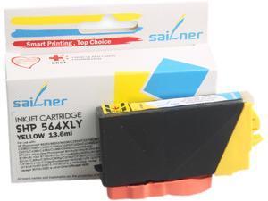 Sailner Compatible SHP 564XLY inkjet Cartridge, Cartridge for HP OEM#  564XLY