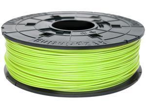 XYZprinting da Vinci PLA Filament (for 1.0, 1.1+, AiO, 2.0, Pro), NEON GREEN Color