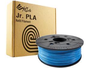 XYZprinting da Vinci Jr. PLA Filament (For Jr. Series Only), CLEAR BLUE Color