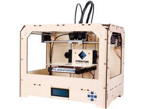 "FlashForge Creator 100 microns 3D Printer 8.9"" x 5.7"" x 5.9"" Build Size"