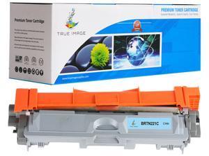 True Image BRTN221C Cyan Toner Replaces Brother TN-221C