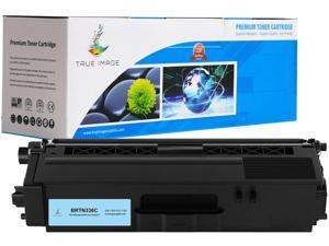 TRUE IMAGE BRTN336C Cyan Toner Replaces Brother TN-336C TN336C, Single Pack, Page Yield 3,500