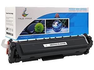 TRUE IMAGE HECF411X-C410X Black Toner Cartridge Replaces HP CF411X