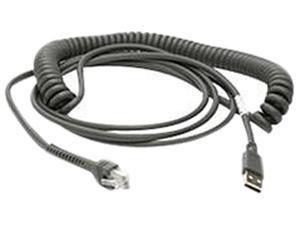 Motorola Symbol CBA-U12-C09ZAR Barcode Scanner Cable