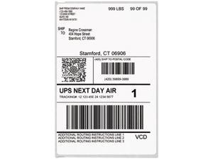 DYMO 1744907 LabelWriter Shipping Labels, 4 x 6, White, 200/Roll
