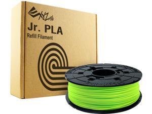 XYZprinting da Vinci Jr. PLA Filament (For Jr. Series Only), NEON GREEN Color