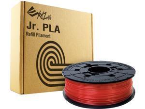 XYZprinting da Vinci Jr. PLA Filament (For Jr. Series Only), CLEAR RED Color