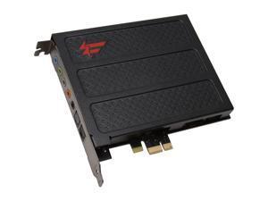 Creative Sound Blaster X-Fi Titanium Fatal1ty Professional 70SB088600002 7.1 Channels PCI Express x1 Interface Sound Card