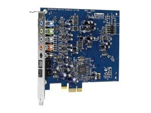Creative Sound Blaster X-Fi Xtreme Audio 7.1 Channels PCI Express x1 Interface Sound Card