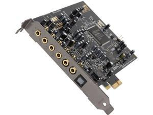 Creative Sound Blaster Audigy RX 7.1 PCIe Sound Card with 600 ohm Headphone Amp