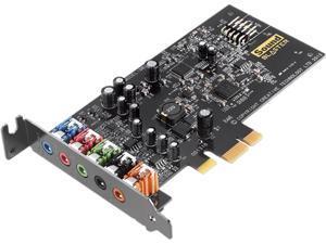 Creative Sound Blaster 5.1 Channels PCI Express x1 Interface Sound Blaster Audigy Fx PCIE Sound Card
