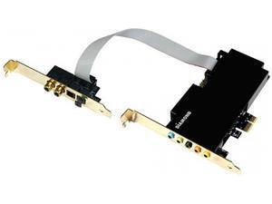 DIAMOND XS71HD Xtreme Sound 7.1 PCI-e Low Profile 24 Bit Record and Playback Internal Sound Card