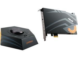 ASUS STRIX RAID PRO 8 Channels 44.1K / 48K / 88.2K / 96K / 176.4K / 192KHz PCI Express Interface Sound Card