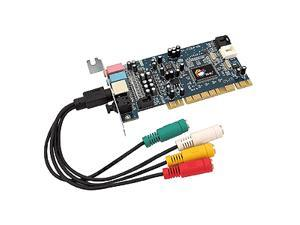 SIIG SoundWave LP-000022-S2 5.1 Channels PCI Interface Sound Card