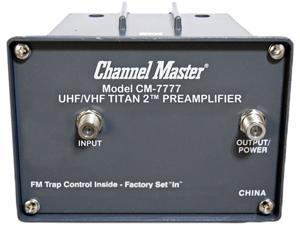 CHANNEL MASTER 7777 HDTV Antenna Preamplifier