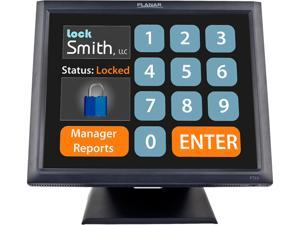 """Planar PT1545R 15"""" Point-of-Sale 5-wire Resistive Touch Screen Monitor"""
