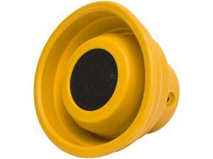 Oblanc SY-SPK23057 X-Horn Collapsible Portable Bluetooth Speaker -Yellow