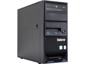 Lenovo ThinkServer TS140 Tower Server Workstation E3-1226v3 3.3 GHz 4GB 1600MHz uDIMM 70A4003AUX