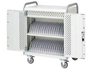Bretford Manufacturing NETBOOK42-90D Tablet, Chromebook, Laptop Computer Cart. Secures And Recharges Up To 42 Device