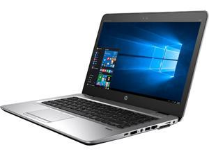 "HP EliteBook 840 G3 (V1H24UT#ABA) Laptop Intel Core i7 6600U (2.60 GHz) 8 GB Memory 256 GB SSD Intel HD Graphics 520 14"" FHD 1920 x 1080 720p HD webcam Windows 7 Professional 64-Bit"