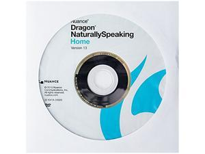 Dragon NaturallySpeaking Home 13 - OEM + WPS Office 10 for 1 PCs for Free
