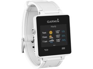 Garmin Vivoactive GPS Smartwatch White Edition Model 010-01297-01