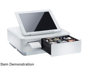 Star Micronics 39650010 mPOP MPOP10 Fully Integrated POS Terminal - White (Tablet Not Included)