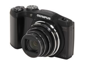 OLYMPUS SZ-31MR iHS V102060BU000 Black 16 MP 25mm Wide Angle Digital Camera HDTV Output