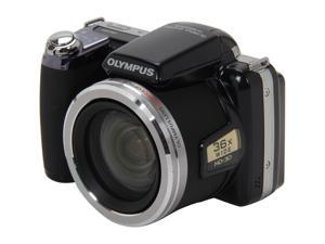 "OLYMPUS SP-810UZ Black 14 MP 3.0"" 230K LCD 36X Optical Zoom 24mm Wide Angle Digital Camera Kit"