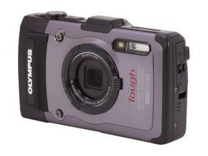 OLYMPUS Tough TG-1 iHS Silver 12 MP Waterproof Shockproof 25mm Wide Angle Digital Camera HDTV Output