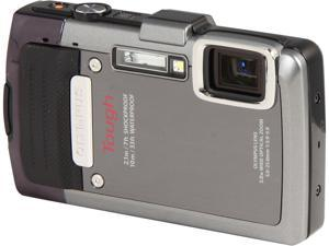 OLYMPUS TG-830 iHS V104130SU000 Silver 16 MP Waterproof Shockproof Wide Angle Digital Camera HDTV Output
